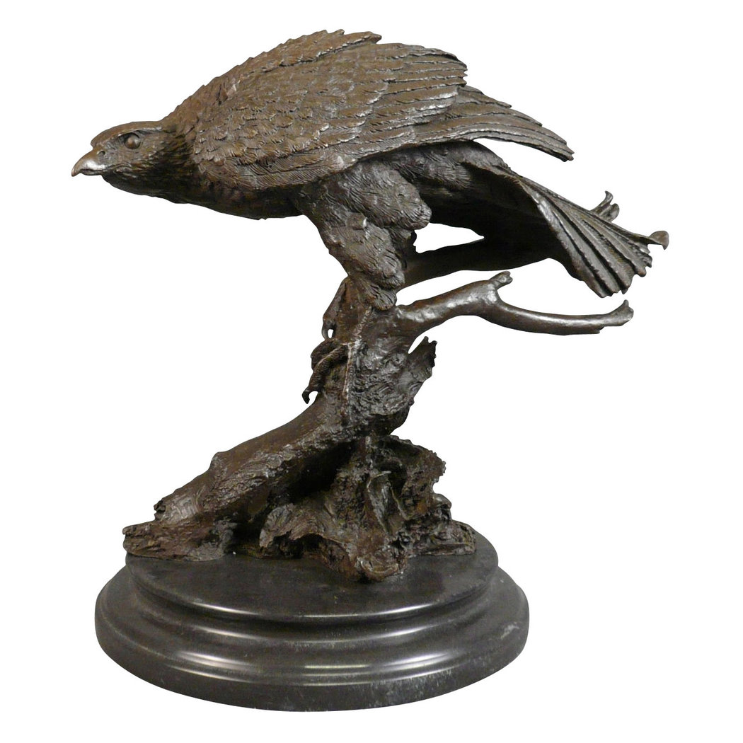 Bronze Statue Of An Eagle Sculptures Art Deco