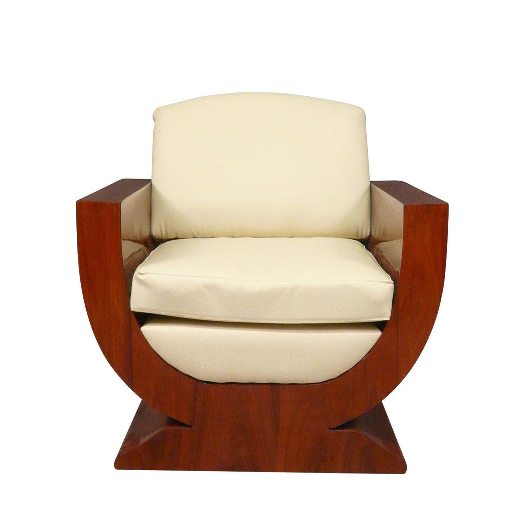 fauteuil art d co meubles art d co. Black Bedroom Furniture Sets. Home Design Ideas