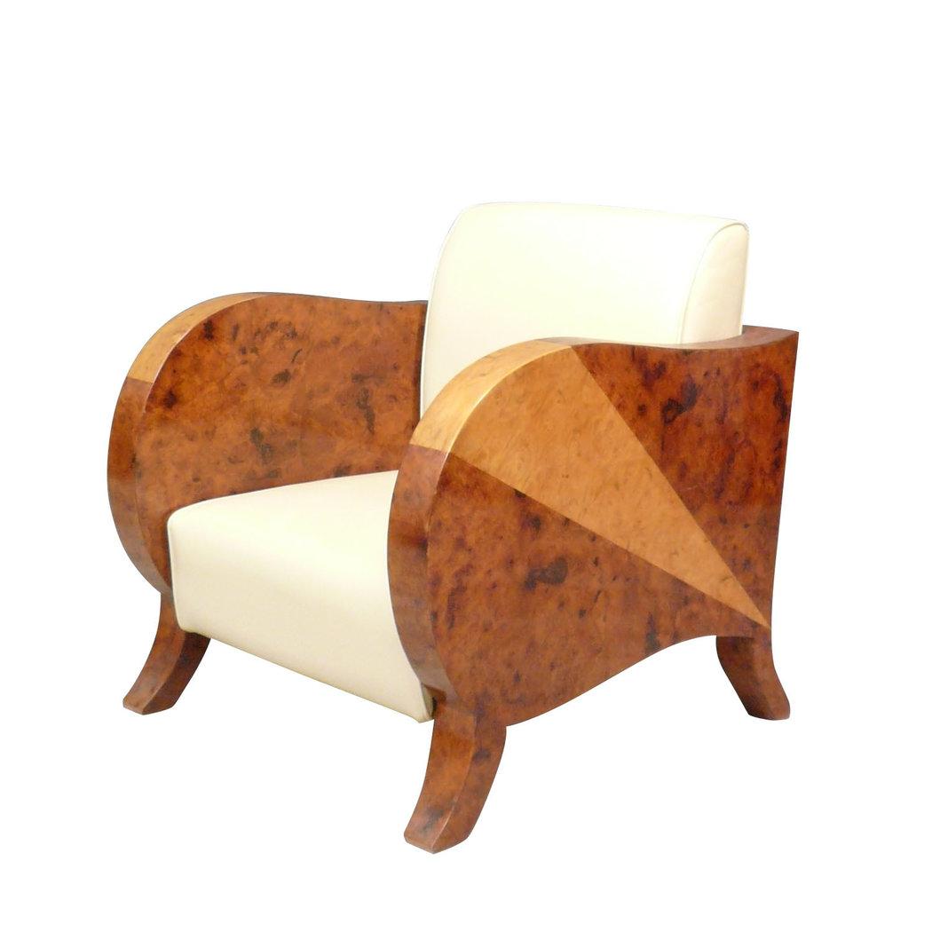Fauteuil club art d co meubles art d co for Fauteuil club art deco