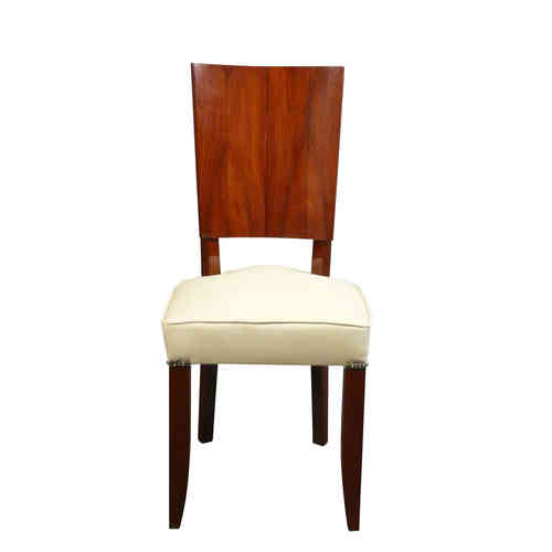 Art Deco rosewood chair