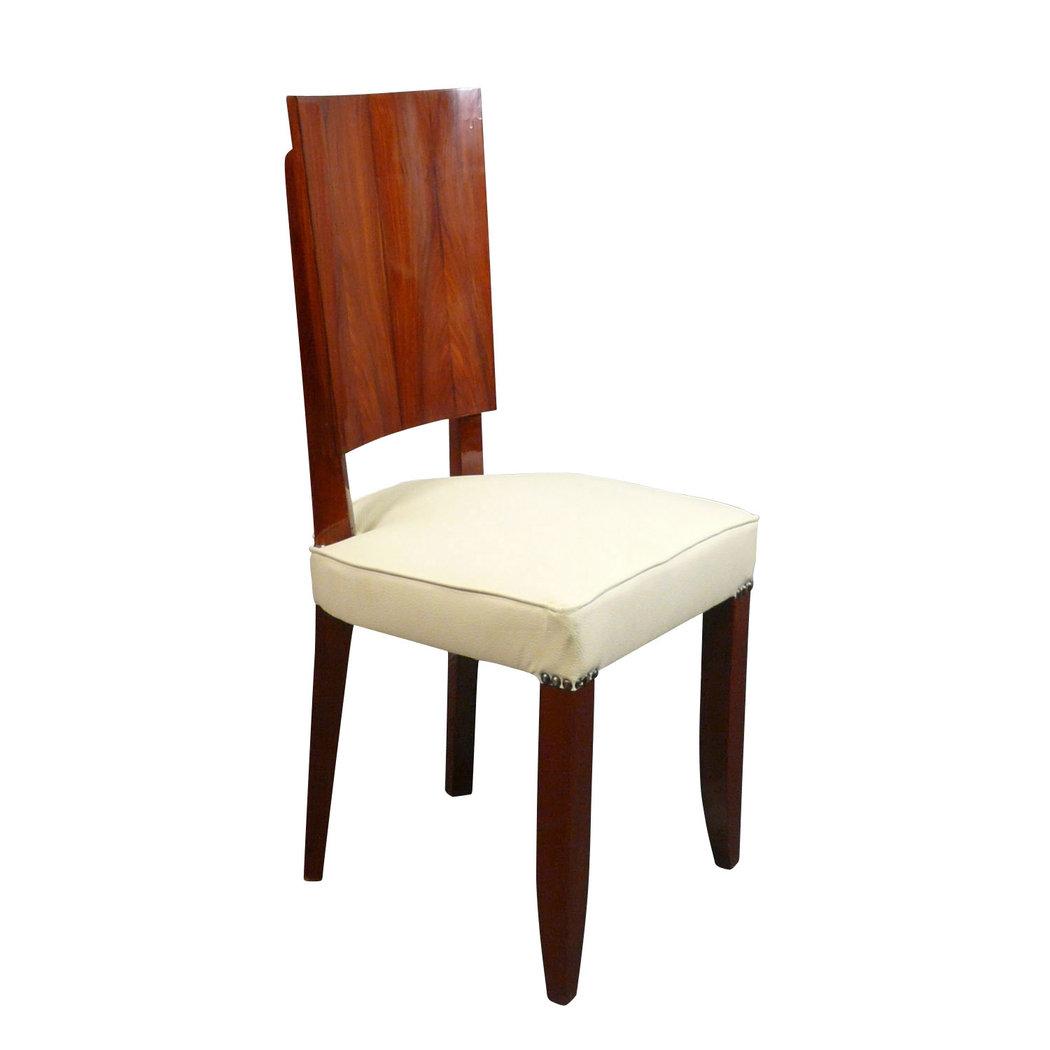 Chaise art d co en palissandre mobilier art d co for Chaise deco