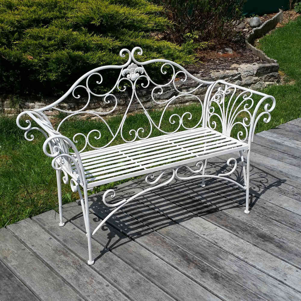 wrought outdoor park seats bench iron steel patio benches garden and metal black wood