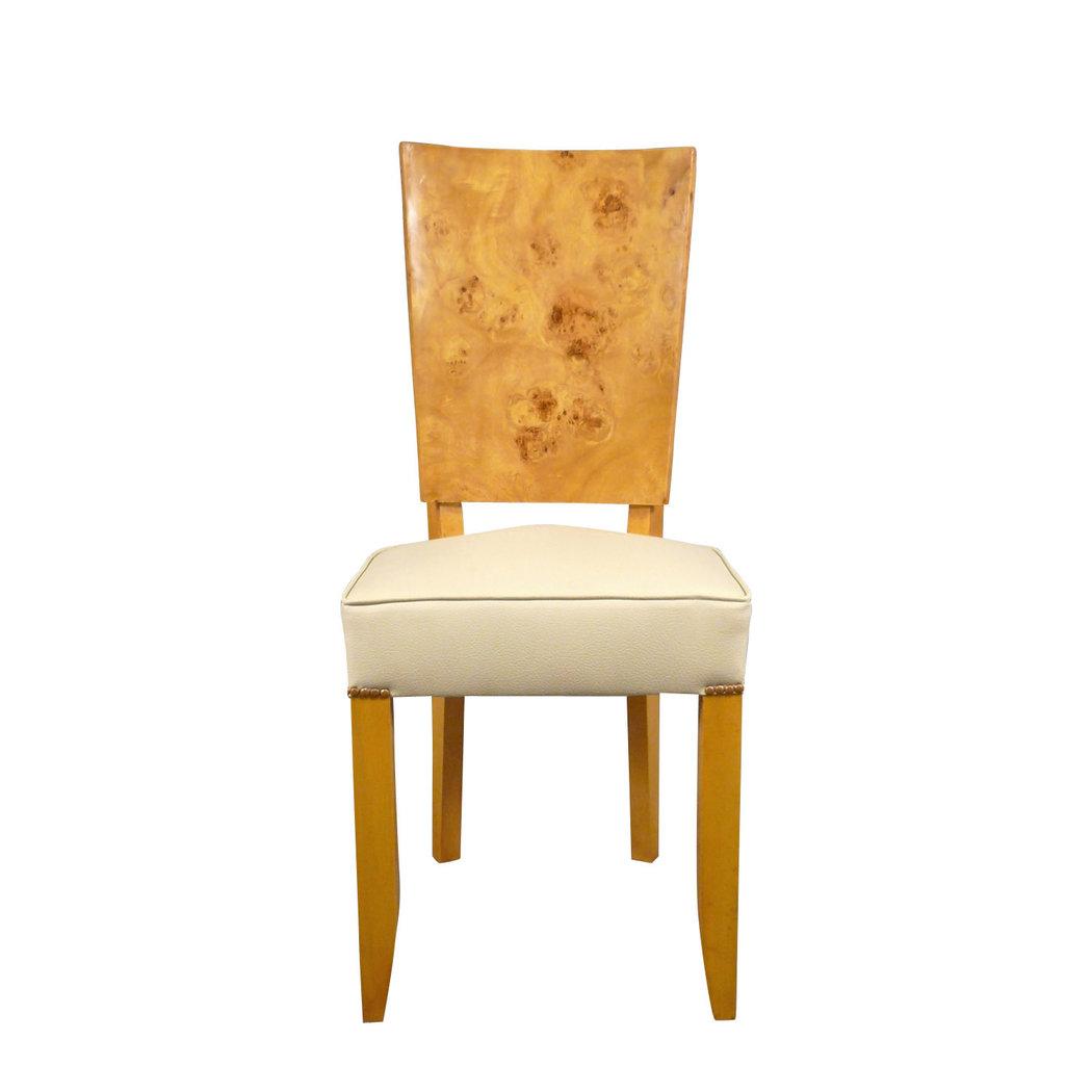 Chaise art d co en loupe d 39 orme meubles art d co for Chaise 1er prix
