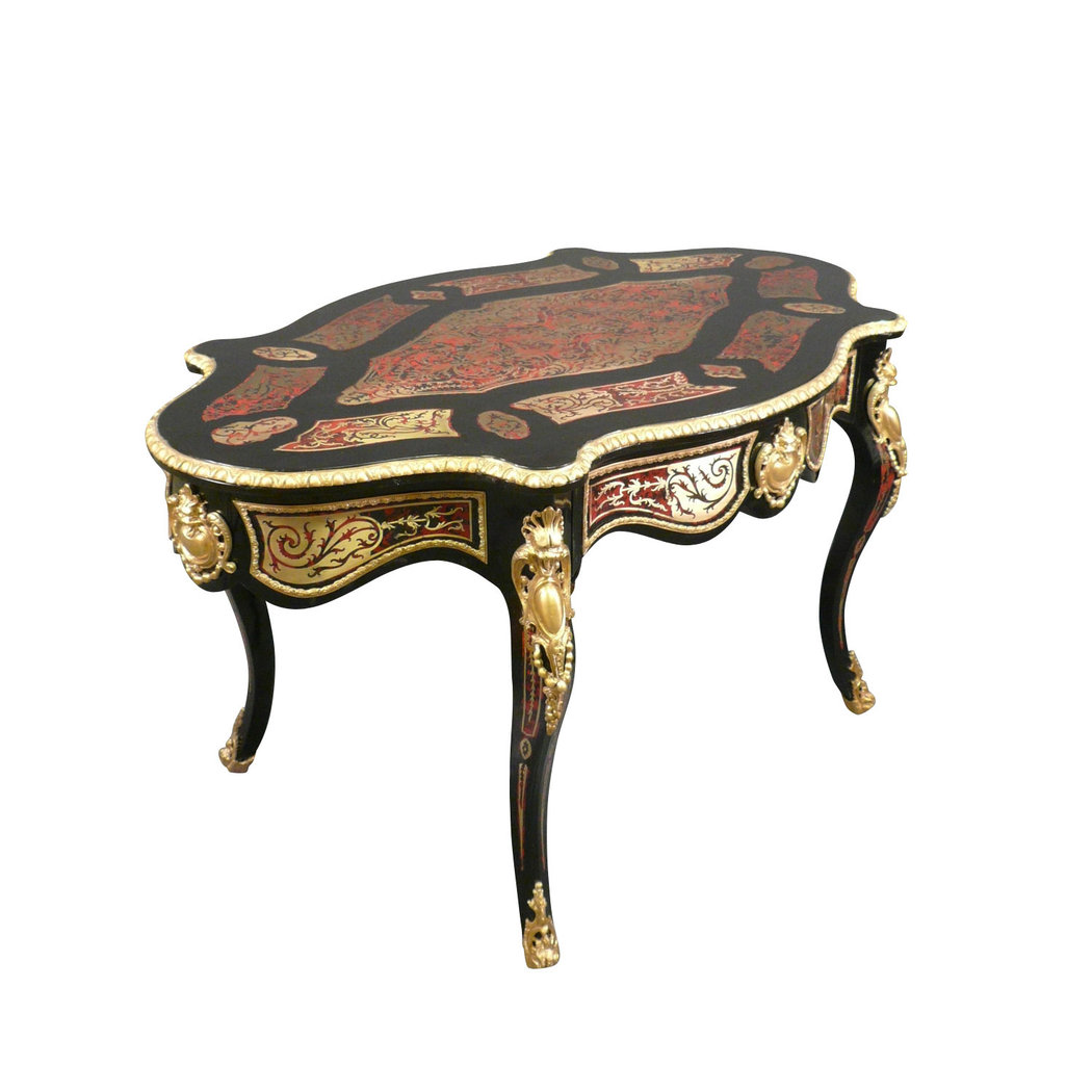 Table louis xv boulle meubles art d co lampes tiffany Meuble tiffany