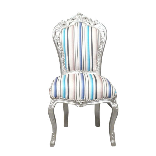 Baroque chair multicolored