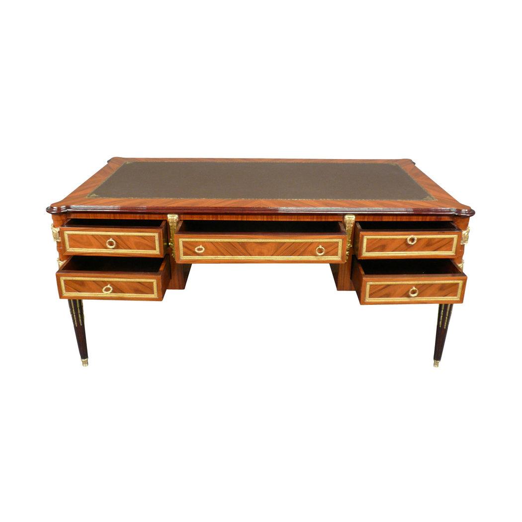 bureau louis xvi en palissandre mobilier de style et art d co. Black Bedroom Furniture Sets. Home Design Ideas