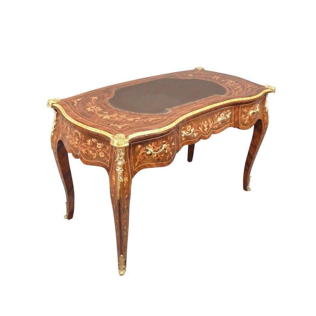 bureau louis xv en palissandre commodes et mobilier de style. Black Bedroom Furniture Sets. Home Design Ideas