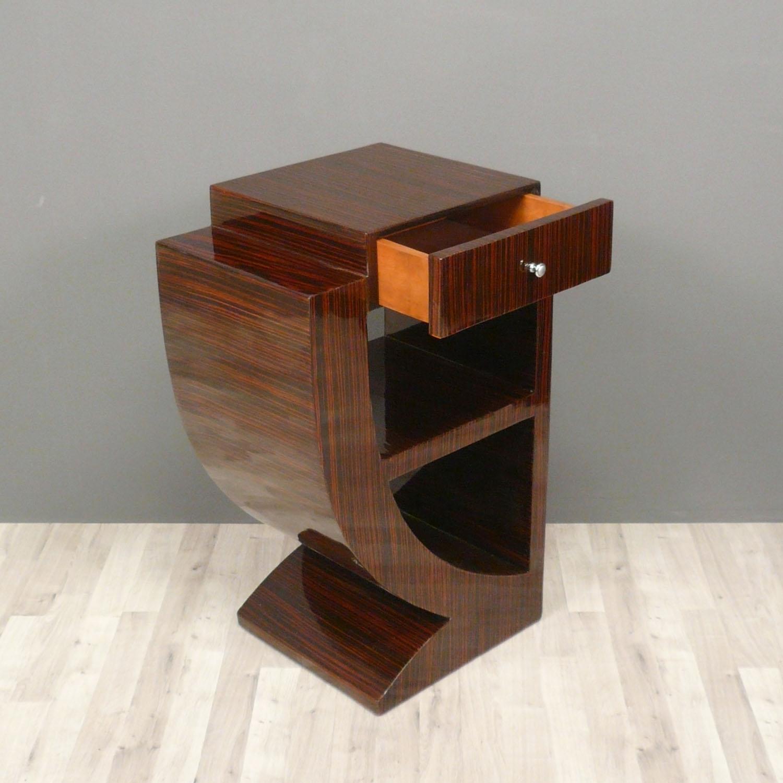 paire de chevets art d co en palissandre meuble art d co. Black Bedroom Furniture Sets. Home Design Ideas