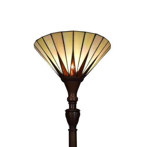 Tiffany floor lamp art deco Memphis
