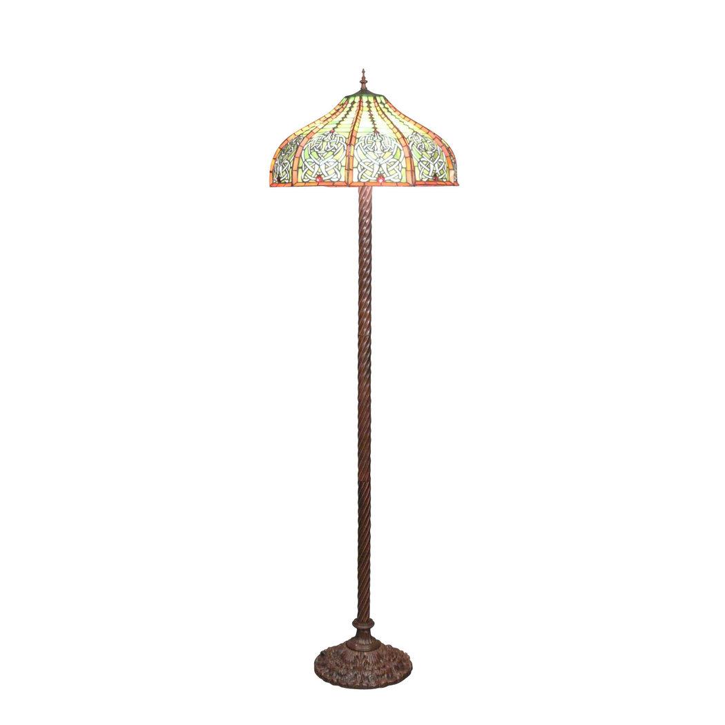 lampadaire tiffany r plique d 39 une lampe originale. Black Bedroom Furniture Sets. Home Design Ideas