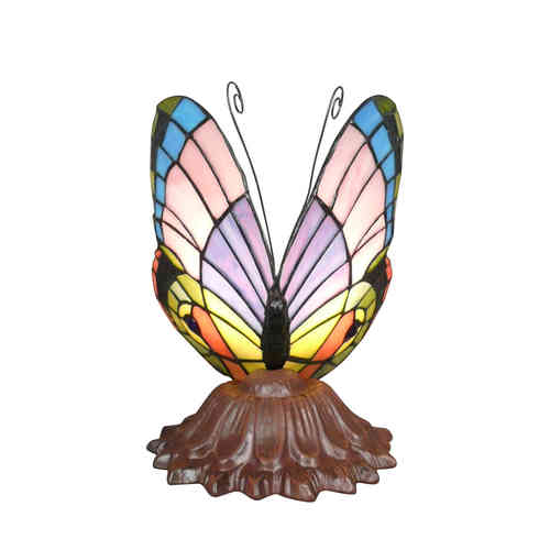 Lampe Tiffany papillon