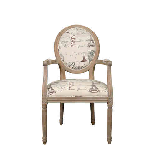 Louis XVI armchair Oak