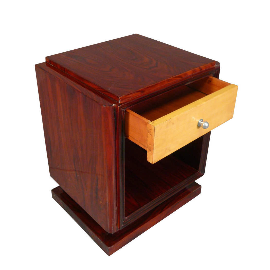 paare art deco nachttische kunst deco m bel. Black Bedroom Furniture Sets. Home Design Ideas