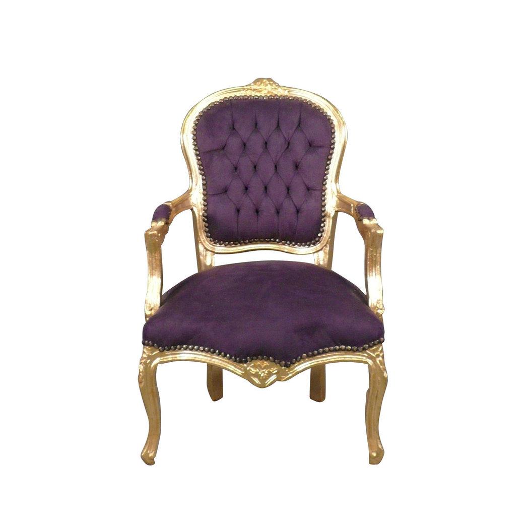 fauteuil louis xv baroque meuble baroque. Black Bedroom Furniture Sets. Home Design Ideas