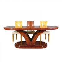Table Art Deco dining room