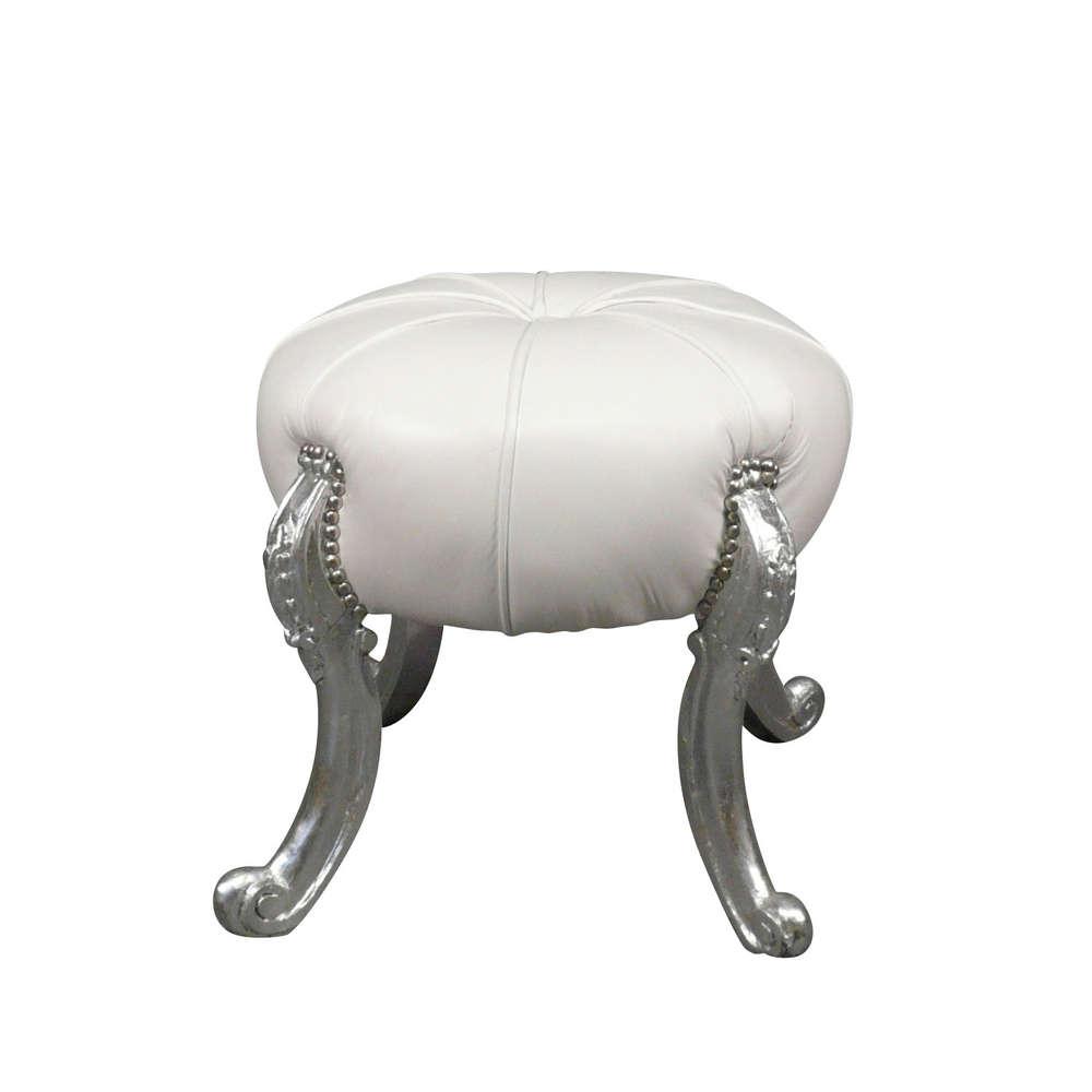 emejing pouf capitonne argent contemporary amazing house. Black Bedroom Furniture Sets. Home Design Ideas