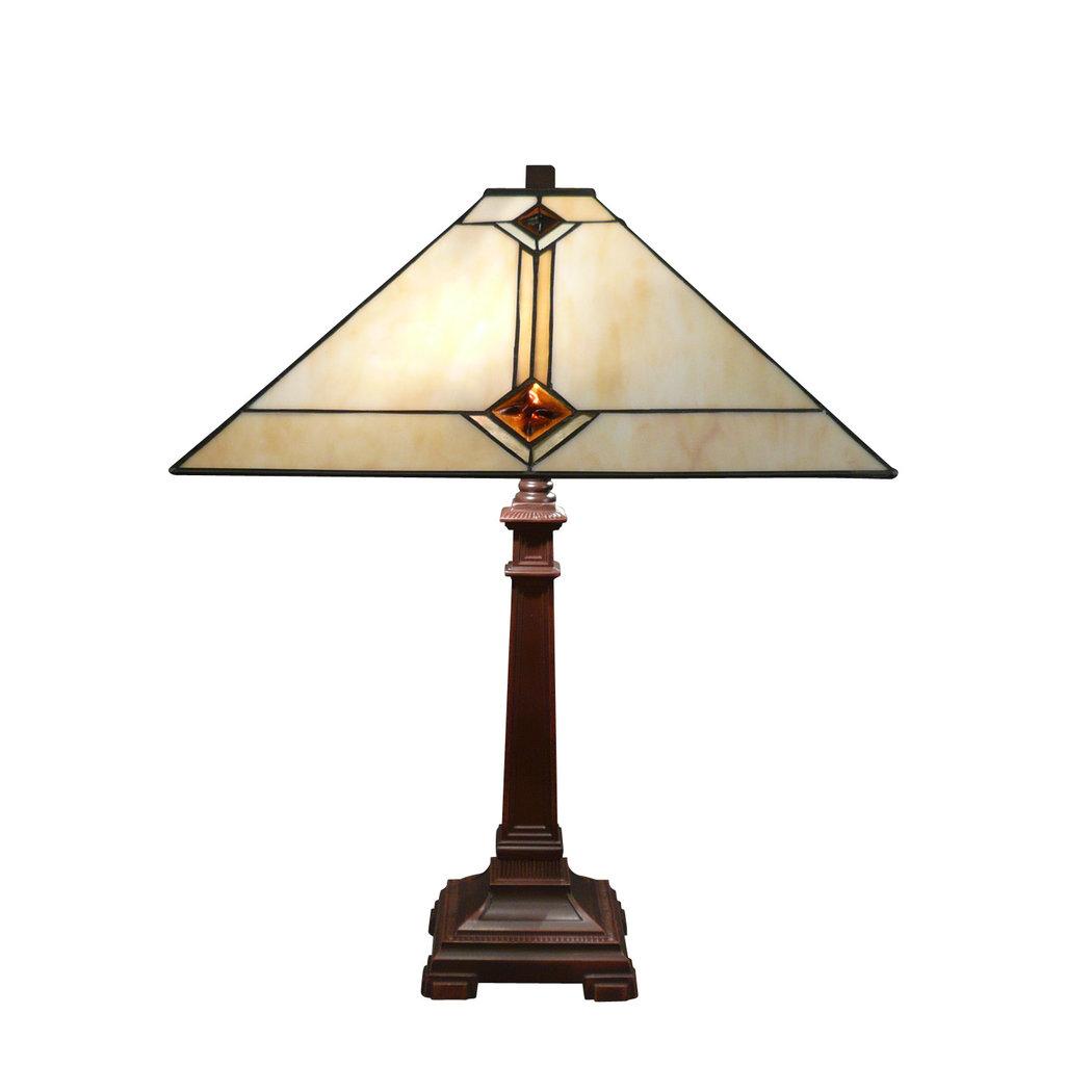 lampe tiffany mission art d co lustre tiffany. Black Bedroom Furniture Sets. Home Design Ideas