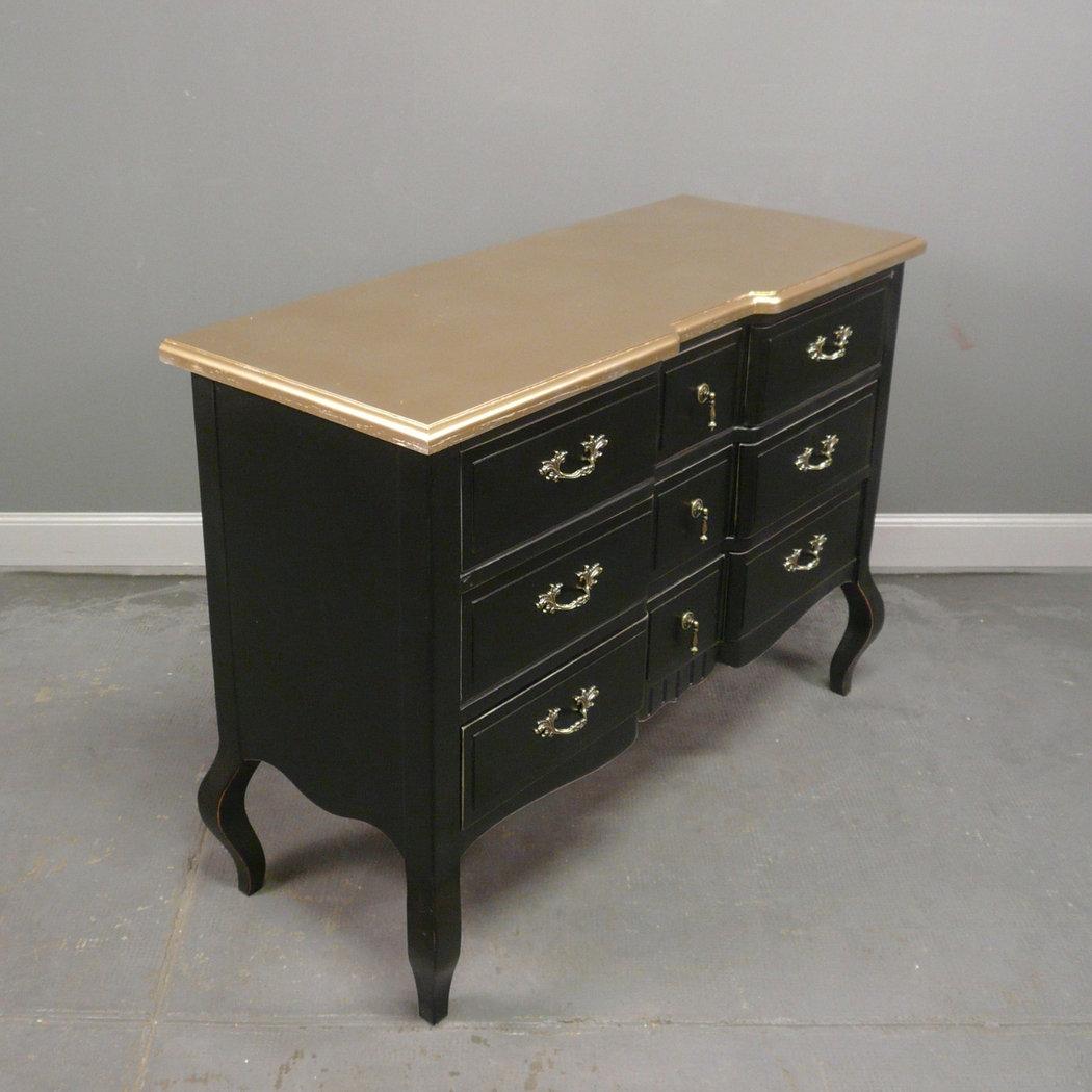commode baroque noire et or mod le barroco espagnol meuble. Black Bedroom Furniture Sets. Home Design Ideas