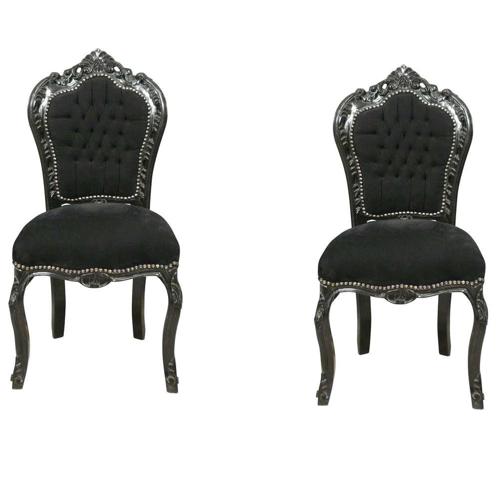 Chaises baroques perfect chaise baroque pas cher with chaises baroques cool chaises baroque - Chaise de bureau baroque ...