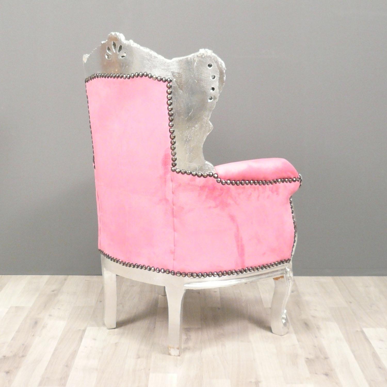 fauteuil baroque enfant rose chaise baroque. Black Bedroom Furniture Sets. Home Design Ideas