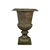 Cast iron urn Medici without base