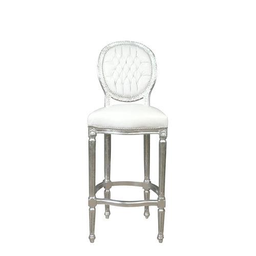 Chaise baroque blanche eblouissant chaise baroque pas for Chaise baroque blanche