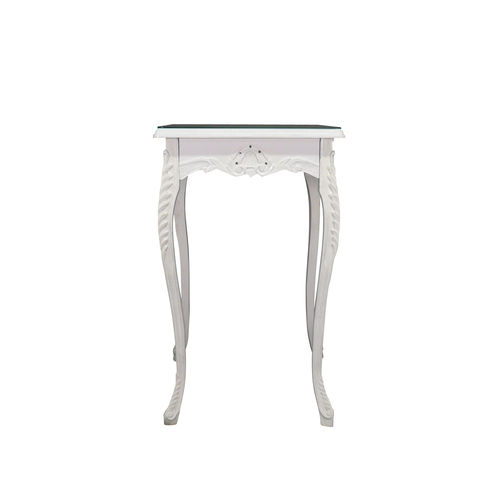 Baroque table white bar