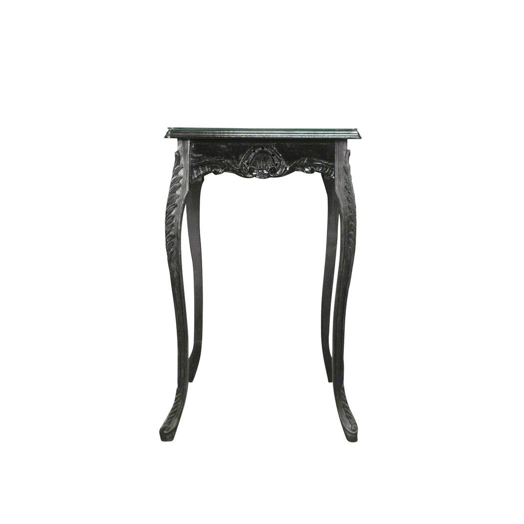 table baroque de bar noire meuble baroque. Black Bedroom Furniture Sets. Home Design Ideas