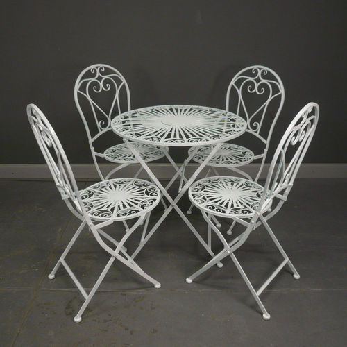 Salon-de-jardin-en-fer-forge-4-chaises - Tiffany-Lampen - Bronze ...
