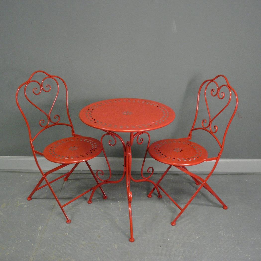 Schmiedeeiserne Gartenmöbel - Tische - Stühle - Bänke