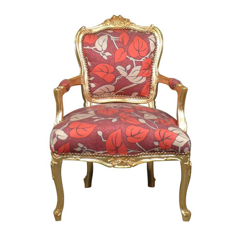 Louis XV Sessel blumig