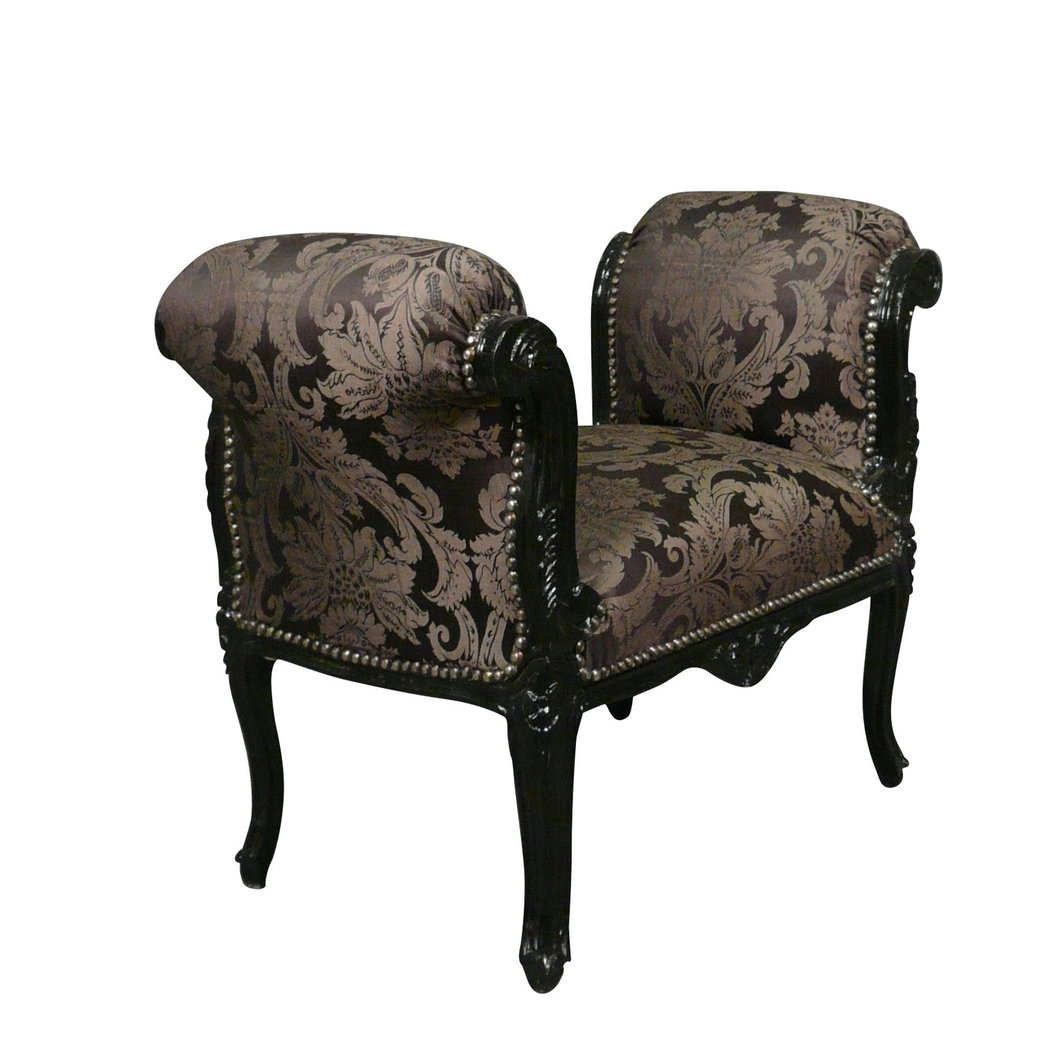 black baroque bench baroque furniture. Black Bedroom Furniture Sets. Home Design Ideas