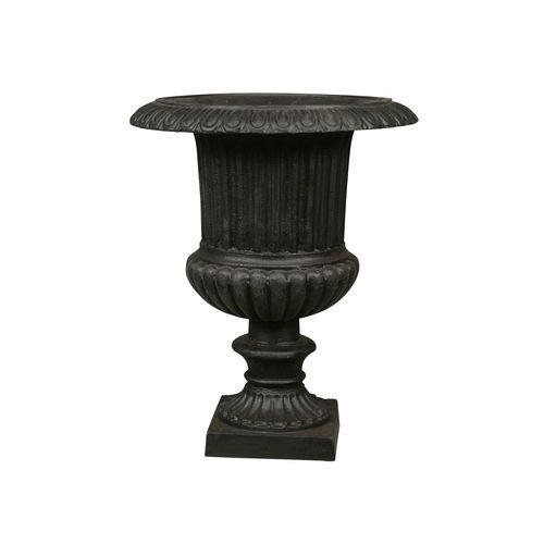 JARDIN - Vase Médicis en fonte - Vasque Medicis - Salon de jardin