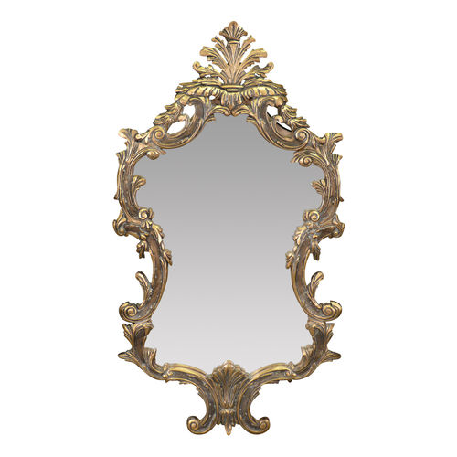 Miroirs miroir louis xv console louis xv en bois dor for Miroir louis xv