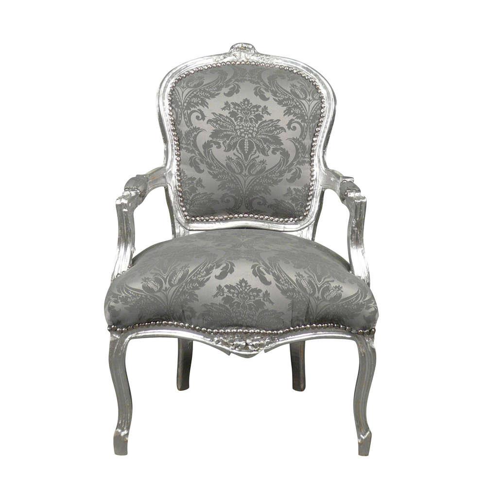 Poltrona Luigi XV rococò - mobili e sedia barocca