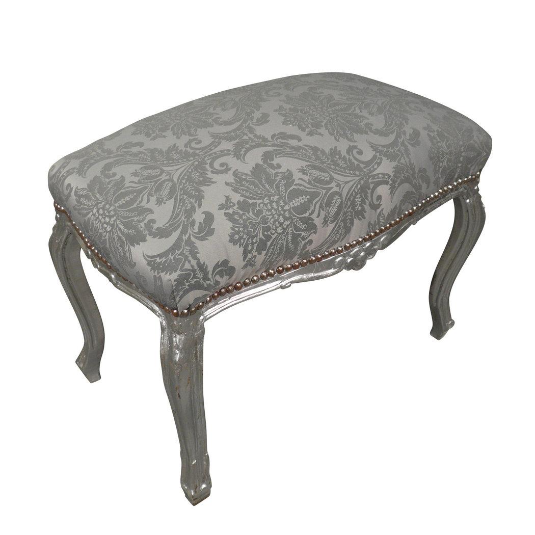 Banco barocco argento rococ mobili e sedie barocche for Sedie barocche
