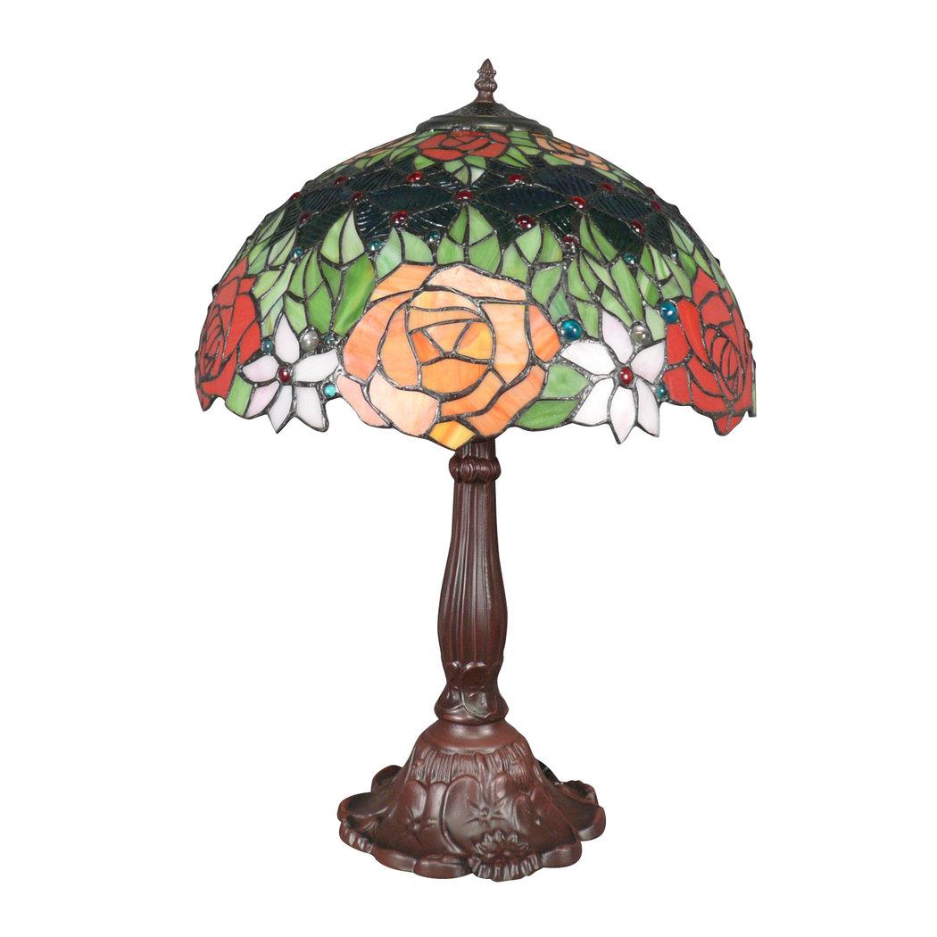 Lampe Tiffany Roses Rouges Lampes Tiffany Originales