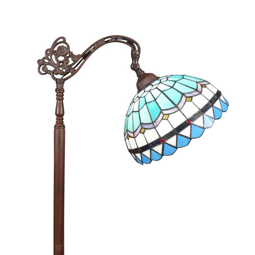 Tiffany floor lamp Monaco bell