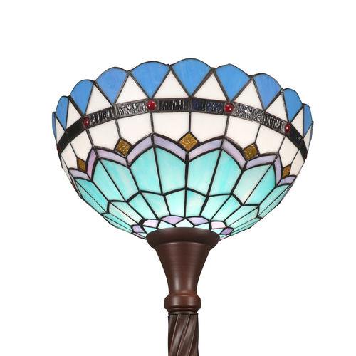 Tiffany floor lamp Torchiere Monaco