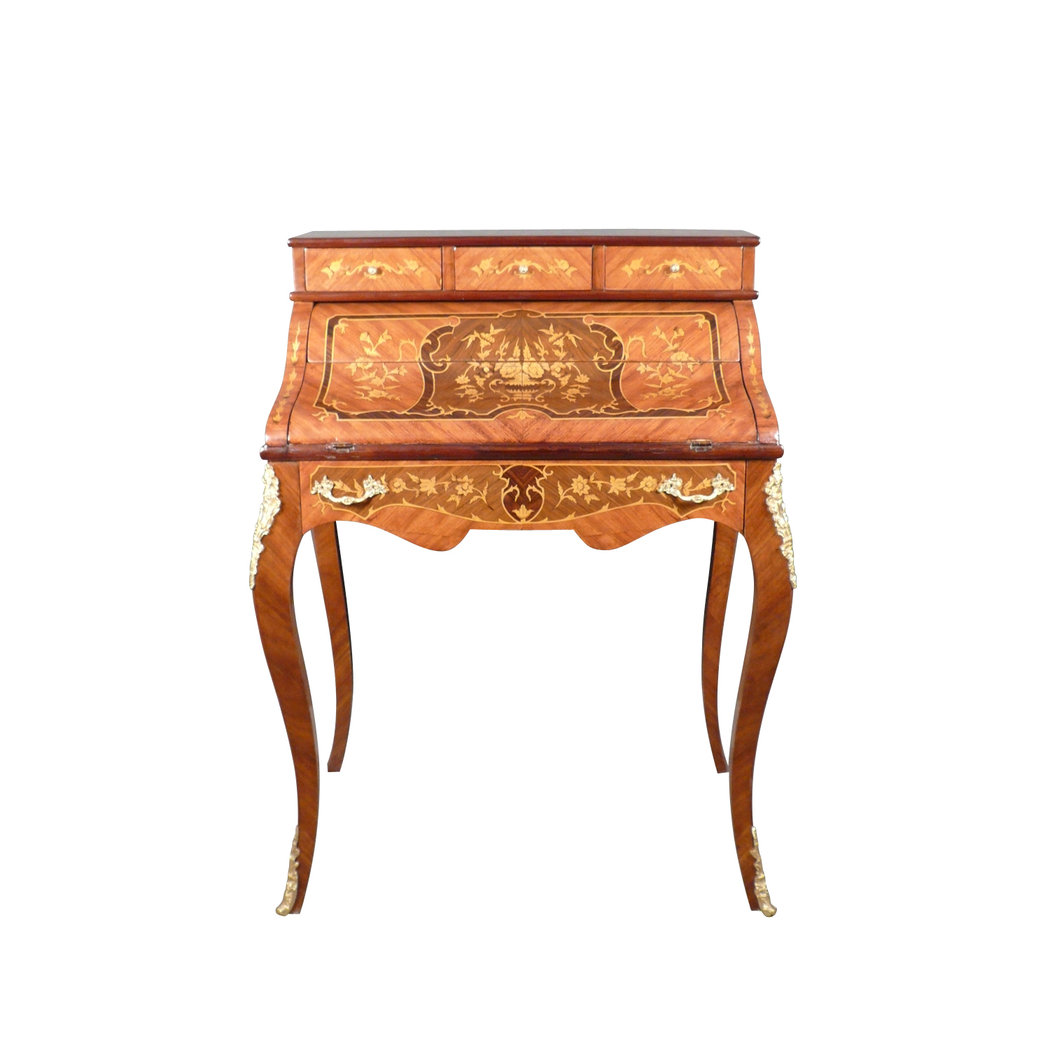 secr taire louis xv bureau cylindre. Black Bedroom Furniture Sets. Home Design Ideas
