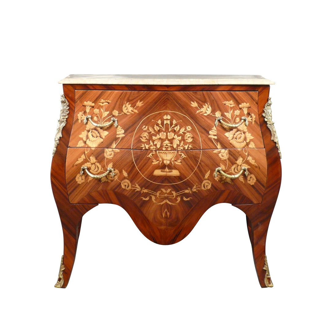 louis xv commode in rosewood furniture louis 15. Black Bedroom Furniture Sets. Home Design Ideas