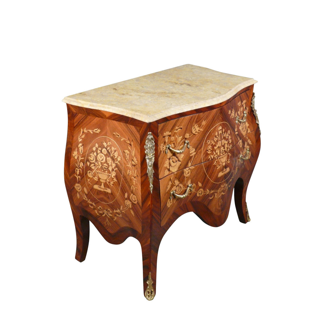 Louis Xv Commode In Rosewood Furniture Louis 15