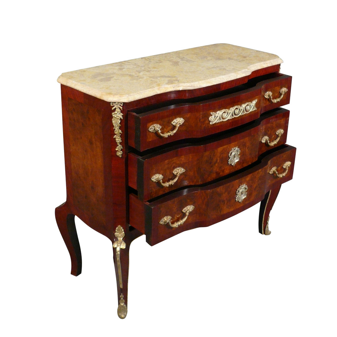commode louis xv xvi transition mobilier de style. Black Bedroom Furniture Sets. Home Design Ideas