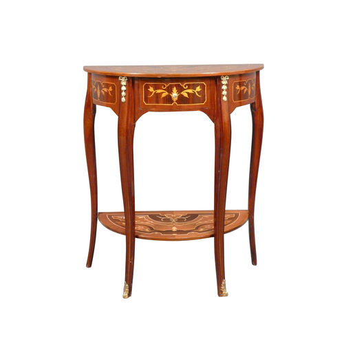 Louis XV console in rosewood