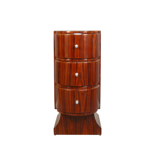 Art deco chest of drawers cylinder