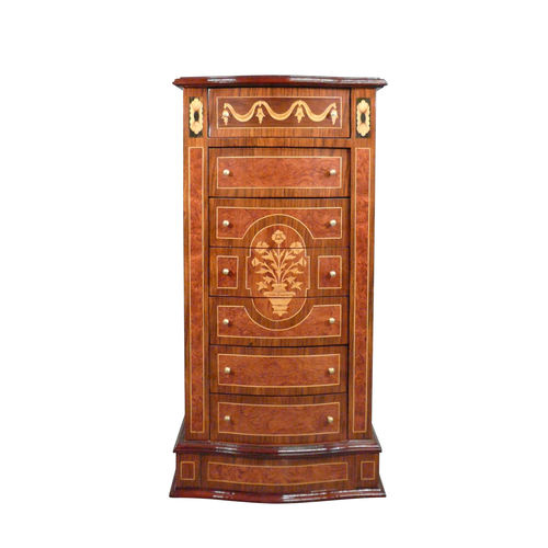 Louis XVI chest of drawers in marquetry