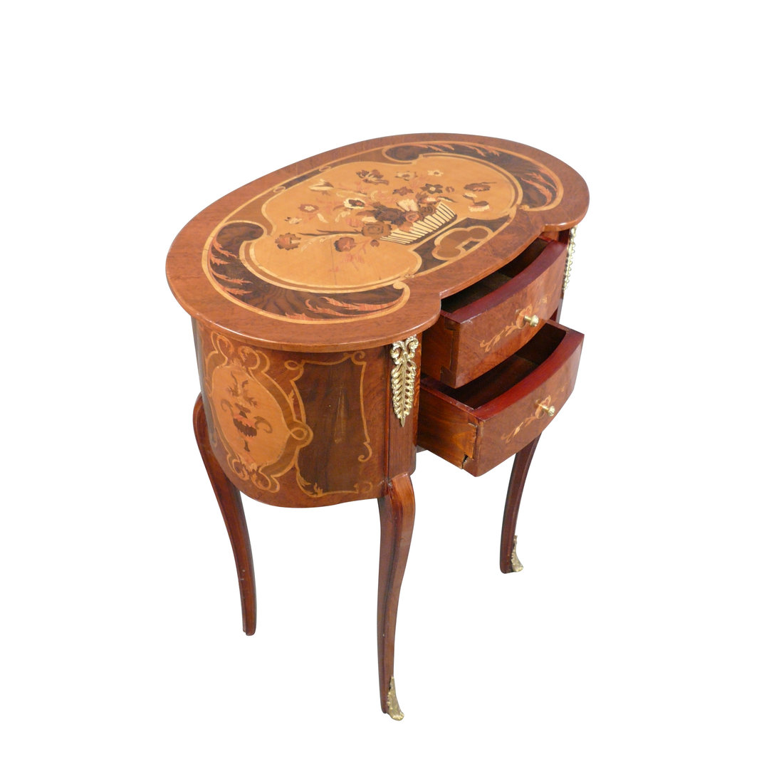 Chevet louis xv meuble de style louis xv for Meuble style louis 15