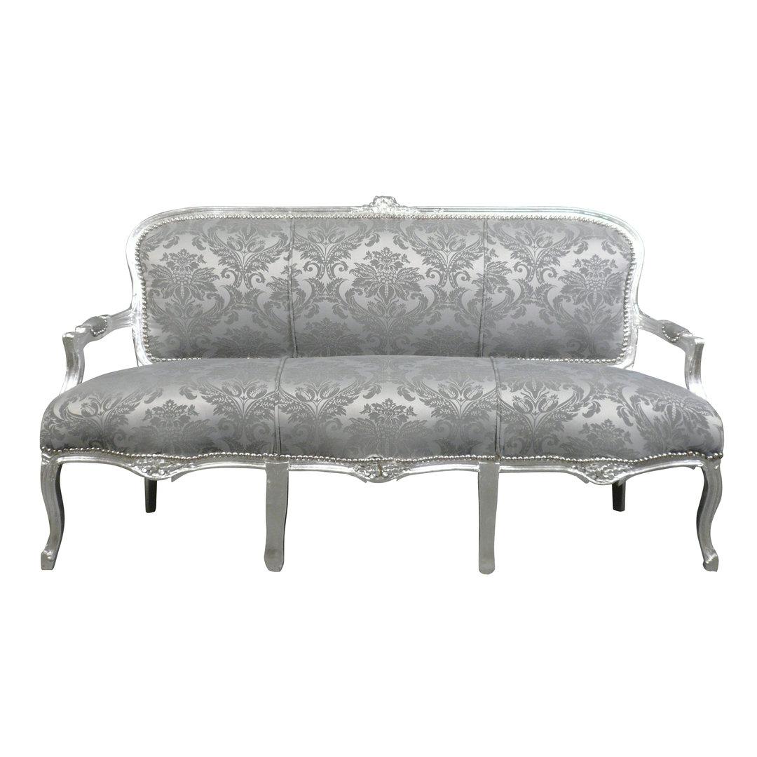 Sofa Louis Xv Gray Rococo Louis 15 Furniture