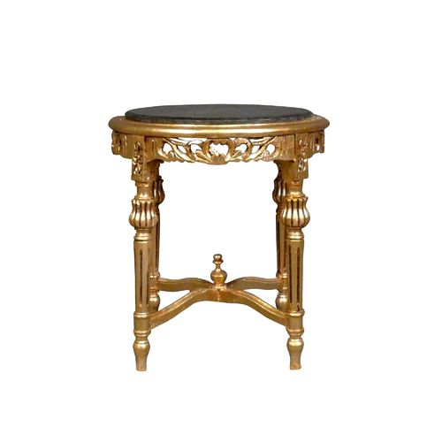 Baroque golden table