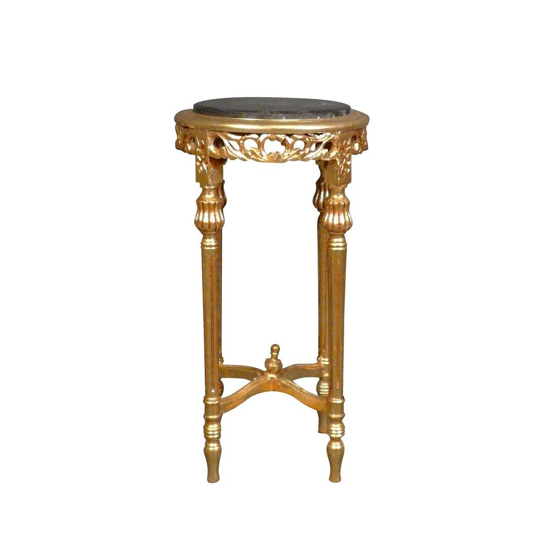 Sellette baroque en bois doré Meubles et tables baroques # Meuble Sellette Bois